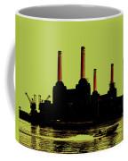 Battersea Power Station London Coffee Mug by Jasna Buncic