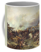 Battle Of Montereau Coffee Mug by Jean Charles Langlois