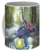 Be Right Back Coffee Mug by Sheila Mashaw