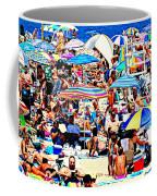 Beach Chaos Coffee Mug by Diana Angstadt