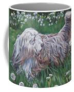 Bearded Collie Coffee Mug by Lee Ann Shepard