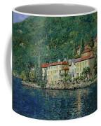 Bellano On Lake Como Coffee Mug by Guido Borelli
