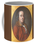 Benjamin Franklin Coffee Mug by Jean Valade