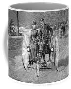 Bicycling, 1886 Coffee Mug by Granger