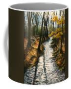 Bike Path Brook Coffee Mug by Jack Skinner