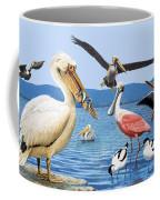 Birds With Strange Beaks Coffee Mug by R B Davis