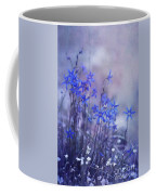 Bluebell Heaven Coffee Mug by Priska Wettstein