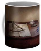 Boat - The Joy Of Sextant Coffee Mug by Mike Savad