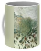 Boulevard Des Capucines Coffee Mug by Claude Monet