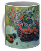 Bouquet Of Flowers Coffee Mug by Paul Gauguin
