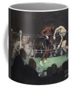 Boxing Match Coffee Mug by George Luks