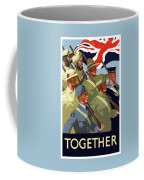 British Empire Soldiers Together Coffee Mug by War Is Hell Store