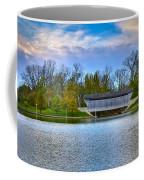 Brownsville Covered Bridge Coffee Mug by Jack R Perry