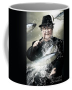 Catch Of The Day Coffee Mug by Jorgo Photography - Wall Art Gallery