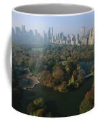 Central Parks Bethesda Fountain Coffee Mug by Melissa Farlow