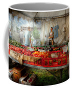 Chef - Vegetable - Jersey Fresh Farmers Market Coffee Mug by Mike Savad