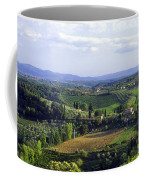 Chianti Region In Italy Coffee Mug by Gregory Ochocki and Photo Researchers
