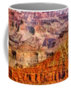 City - Arizona - Grand Canyon - Kabob Trail Coffee Mug by Mike Savad