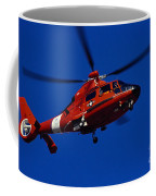 Coast Guard Helicopter Coffee Mug by Stocktrek Images