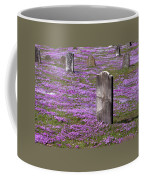 Colonial Tombstones Amidst Graveyard Phlox Coffee Mug by John Stephens