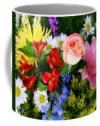 Color Explosion Coffee Mug by Kristin Elmquist