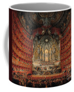 Concert Given By Cardinal De La Rochefoucauld At The Argentina Theatre In Rome Coffee Mug by Giovanni Paolo Pannini or Panini