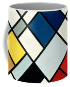 Contracomposition Of Dissonances Coffee Mug by Theo van Doesburg