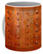 Copper Abstract Coffee Mug by Carol Groenen