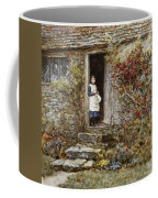 Corcorus Japonica Coffee Mug by Helen Allingham