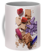 Cosmetics Mess Coffee Mug by Garry Gay