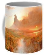 Cotopaxi Coffee Mug by Frederic Edwin Church