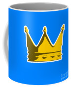Crown Graphic Design Coffee Mug by Pixel Chimp