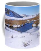Currant Creek On Ice Coffee Mug by Chad Dutson