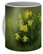 Daffodils Coffee Mug by Sandy Keeton