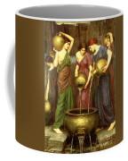 Danaides Coffee Mug by John William Waterhouse