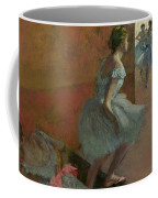 Dancers Ascending A Staircase Coffee Mug by Edgar Degas