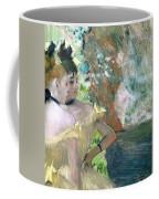 Dancers In The Wings  Coffee Mug by Edgar Degas