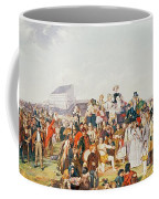 Derby Day Coffee Mug by William Powell Frith