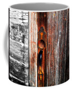 Door To The Past Coffee Mug by Julie Hamilton