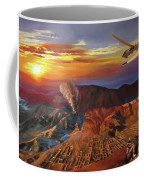 Dragon Dawn Mq1 Predator Coffee Mug by Todd Krasovetz