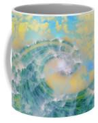 Dream Wave Coffee Mug by Linda Sannuti