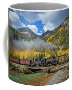 Durango-silverton Twin Bridges Coffee Mug by Inge Johnsson