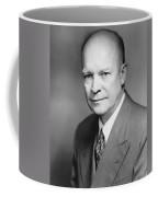 Dwight Eisenhower Coffee Mug by War Is Hell Store