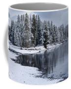 Early Fall Storm In Yellowstone Coffee Mug by Sandra Bronstein