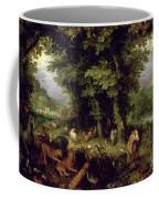 Earth Or The Earthly Paradise Coffee Mug by Jan the Elder Brueghel