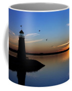 East Warf Sunset Coffee Mug by Lana Trussell