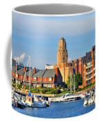 Erie Basin Marina Coffee Mug by Kathleen Struckle