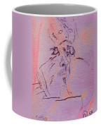 Faces Of Trivia Coffee Mug by Steve Karol