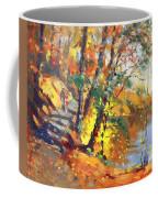 Fall In Bear Mountain Coffee Mug by Ylli Haruni