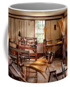 Fantasy - In The Witches Workshop Coffee Mug by Mike Savad